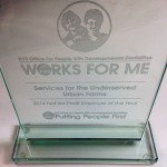 OPWDD Honors SUS With 'Not-For-Profit Employer Of The Year' Award