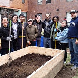 NYU Students Prepare Marcy Hart For Spring