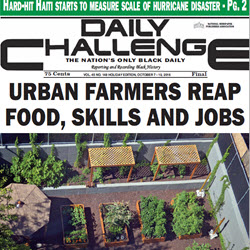 Urban Farmers Reap Food, Skills And Jobs