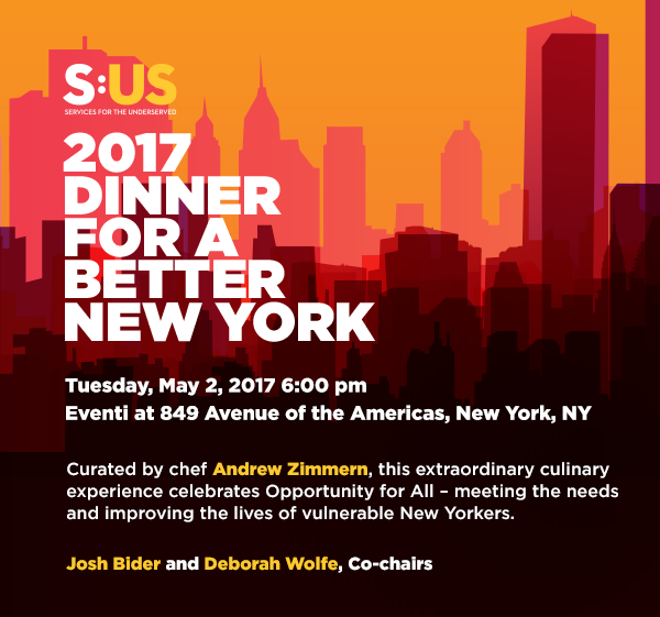 Dinner for a Better New York – May 2nd, 2017
