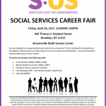 SOCIAL SERVICES CAREER FAIR – April 28, 2017
