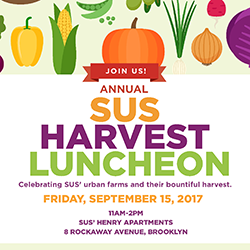 SUS' Annual Harvest Luncheon: September 15, 2017