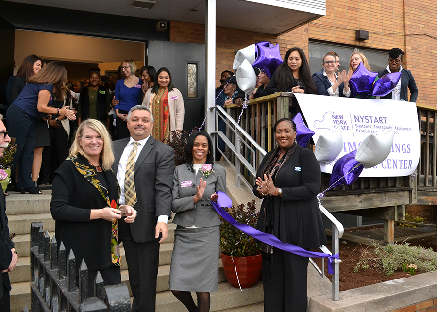 SUS and Partners Celebrate the Opening of NYSTART Therapeutic Resource Center