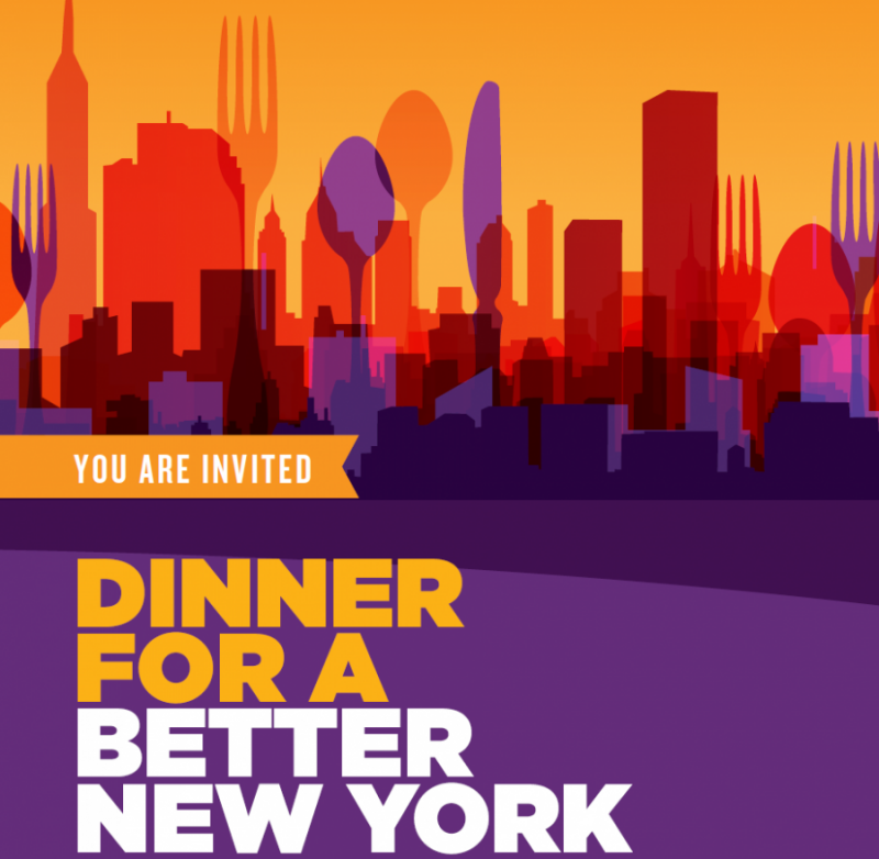 Dinner for a Better New York: May 8, 2018