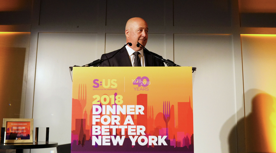 Celebrity Chef Andrew Zimmern and World-Class NYC Chefs Join Services for the UnderServed to Raise Over $655,000 for New Yorkers in Need