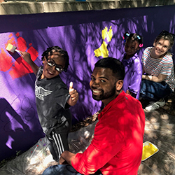 CBS: Mural Helps Formerly Homeless Families Finally Feel At Home In South Bronx