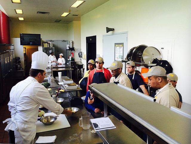 New Training Program Graduates Nine Chefs