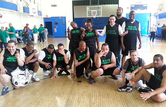 S:US Warriors Celebrate Basketball Championship