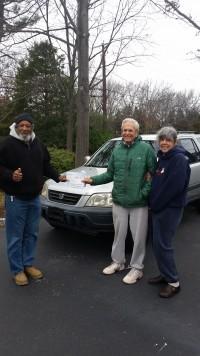 Couple Donates Car to Veteran in Need