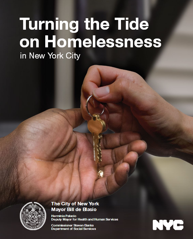S:US Featured in City's Report to Reduce Homelessness
