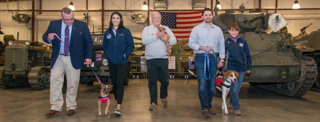 D'Arrigo Brothers Funds Paws Of War For Service Dogs For Veterans