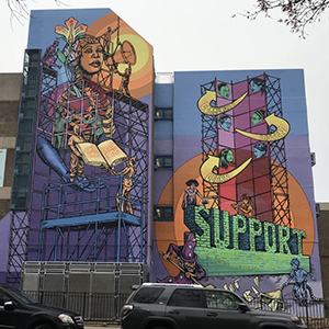 S:US Joins NYC Mural Arts Project to Create a Community Mural in Brooklyn