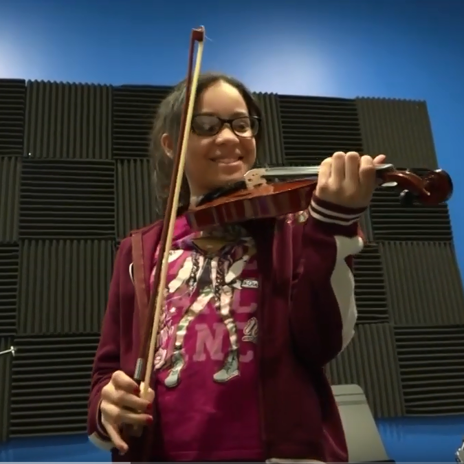 CBS: Children in S:US supported housing enjoy free music lessons through after-school program