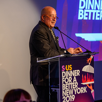 TV Personality Andrew Zimmern and Celebrity Chefs Join S:US to Raise $1 Million for New Yorkers in Need