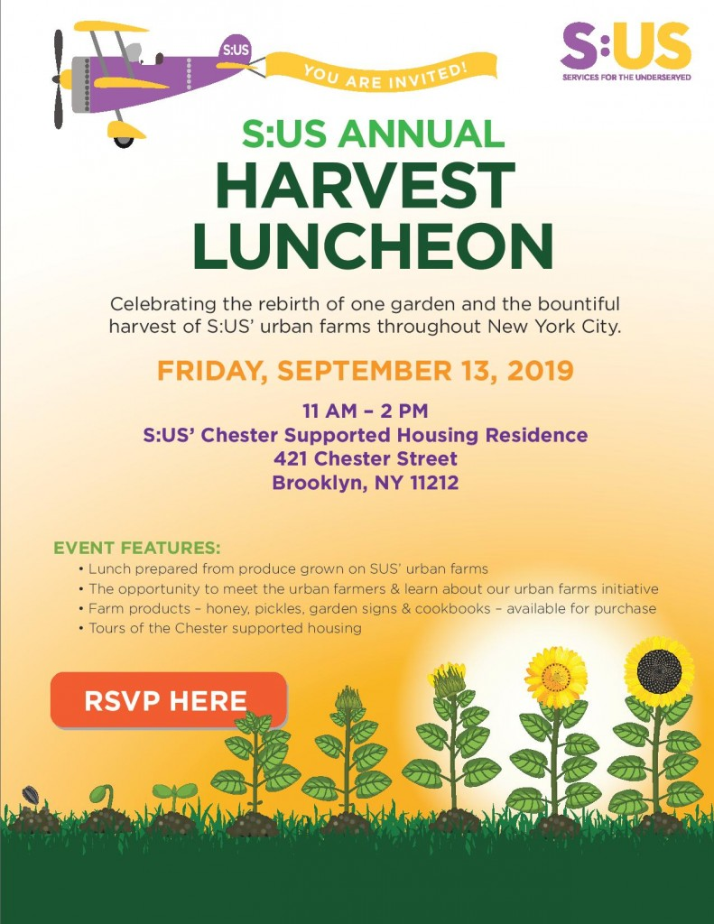 2019 Harvest Luncheon invitation