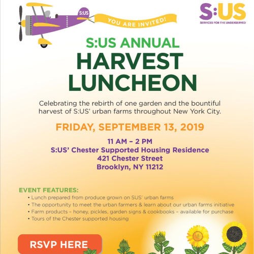 S:US Annual Harvest Luncheon: September 13, 2019