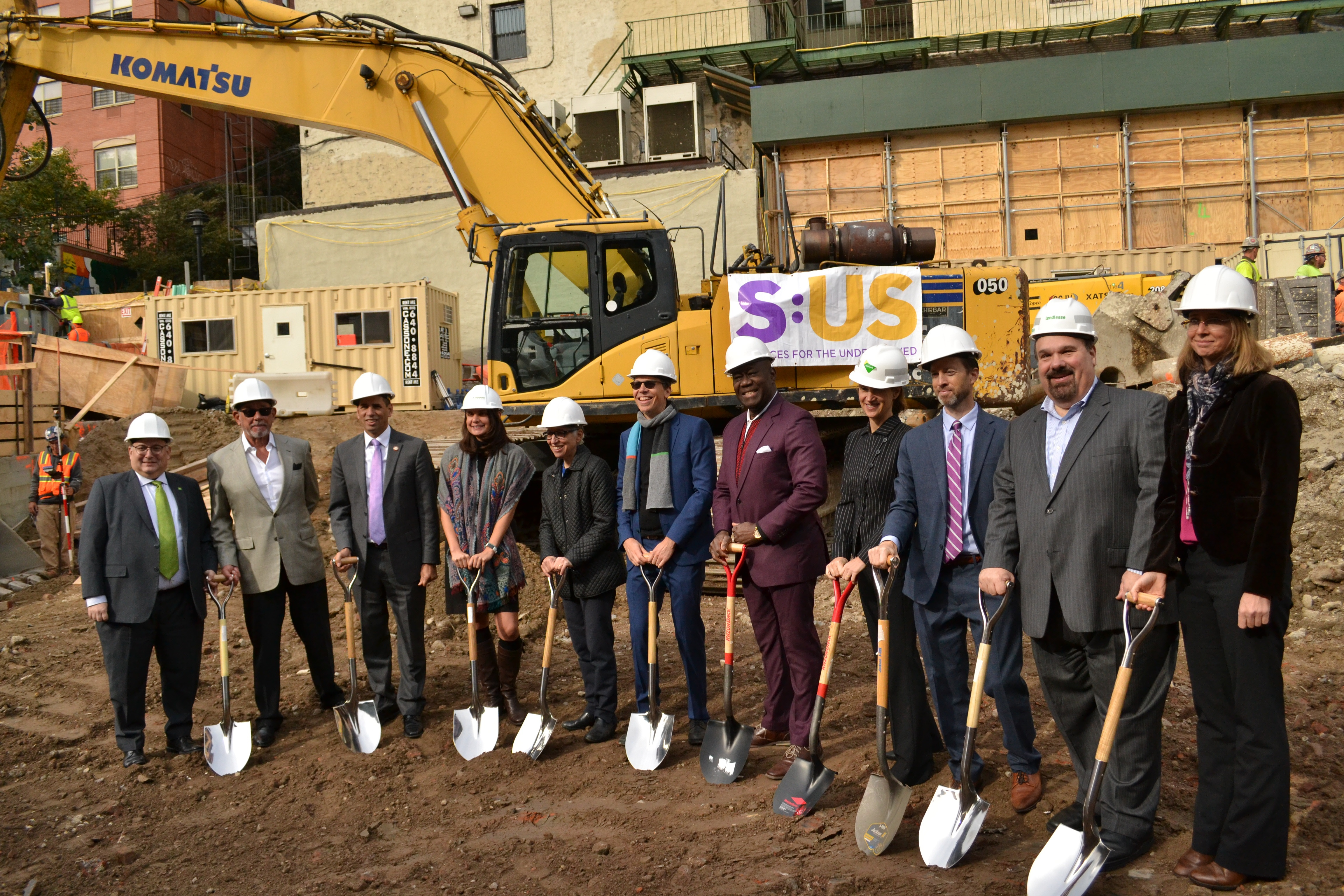 S:US and Bronx Pro Group break ground on Jerome Avenue Apartments; Marvel Architects designed the 175-unit project