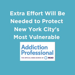 Extra Effort Will Be Needed to Protect New York City's Most Vulnerable