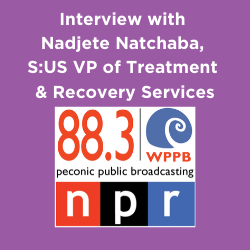 NPR Interview: What S:US is Doing to Support People with Mental Health & Substance Use Challenges During COVID-19