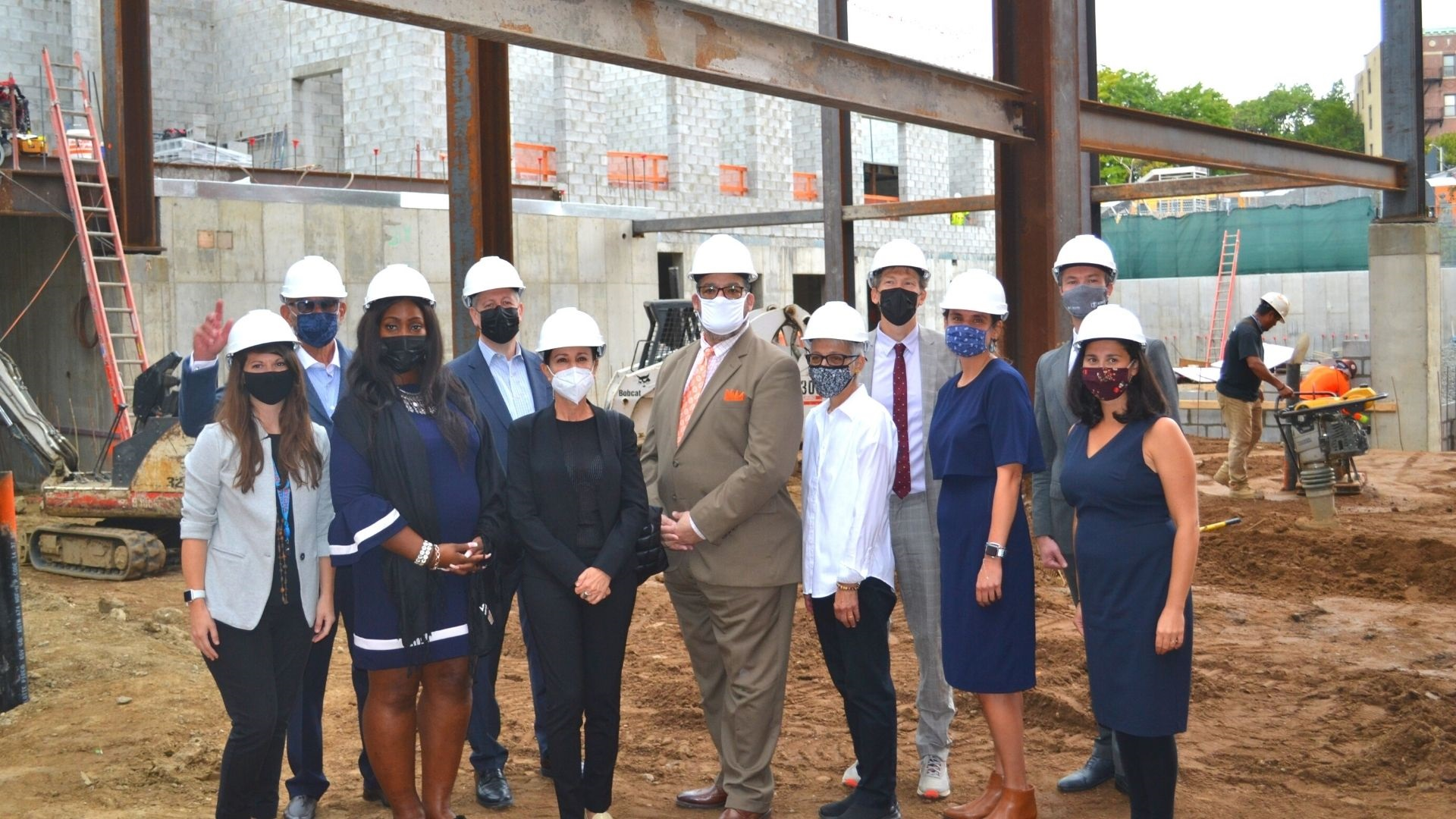 Partners Celebrate Affordable & Supported Housing Construction in the Bronx